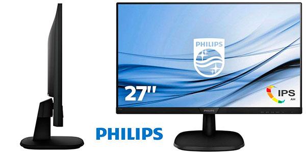 """Chollo Monitor Philips 273V7QDSB/00 IPS LCD Full HD de 27"""""""