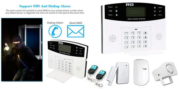 Chollo Sistema de alarma Owsoo GSM de 433 MHz