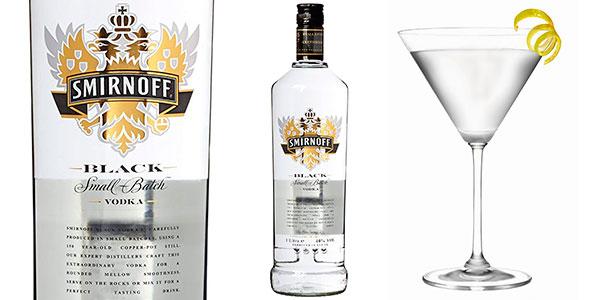 Chollo Vodka Smirnoff Black de 1.000 ml