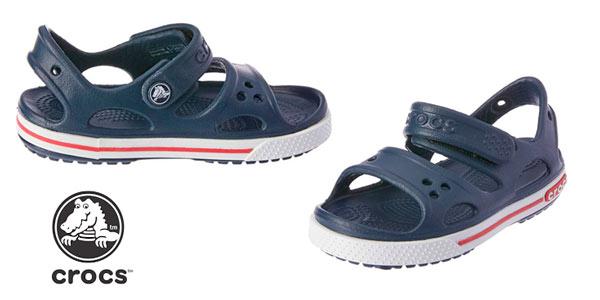 Sandalias infantiles Crocs Crocband II Sandal PS baratas en Amazon