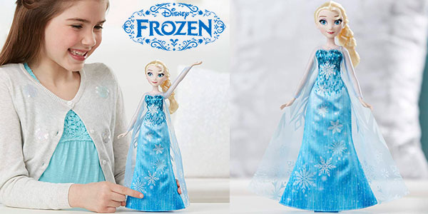 Chollo Elsa Vestido Musical de Frozen
