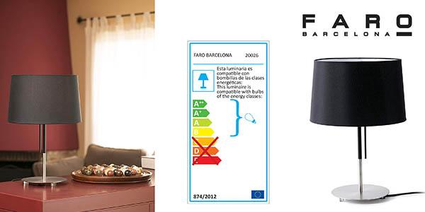 Faro Barcelona Volta lámpara de mesa barata