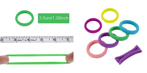 gomas y clips de colores para el pelo HBSelect oferta