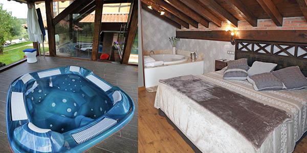 Hotel con jacuzzi privado en Santillana del Mar barato