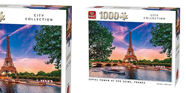 King puzle de 1.000 piezas de la Torre Eiffel barato