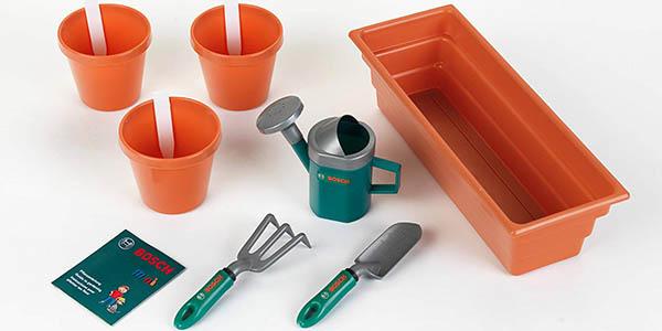 kit de jardinería de juguete Bosch Theo Klein oferta
