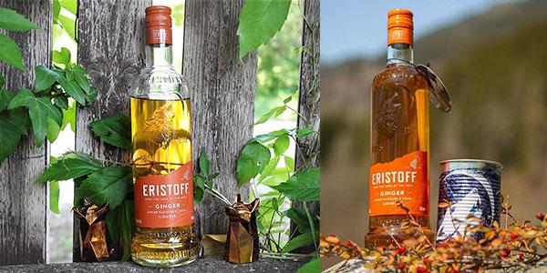 Pack de vodka Eristoff Ginger barato