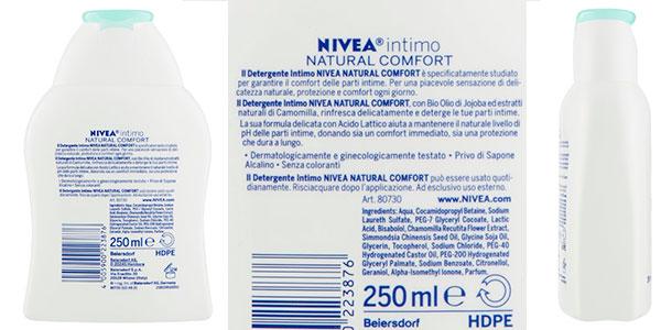 Pack de jabón líquido Nivea Confort para la higiene íntima barato