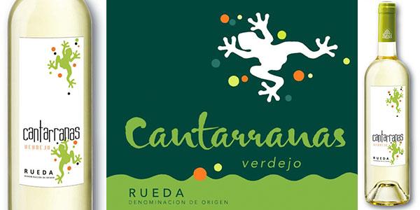 Pack de vino Cantarranas Verdejo 2017 de 700 ml con DO Rueda barato