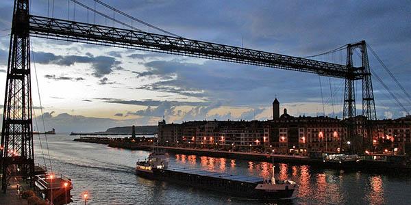 portugalete Puente colgante Patrimonio de la Humanidad UNESCO