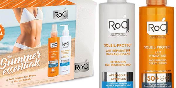 protector solar y aftersun de alta protección ROC Soleil-Protect chollo