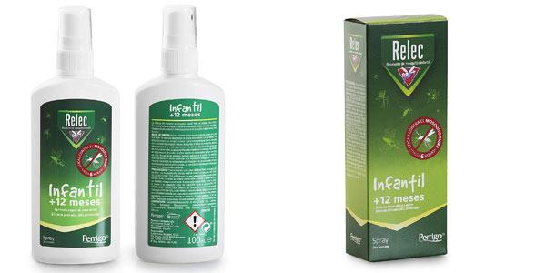 Spray antimosquitos infantil Relec +12 meses en oferta en Amazon
