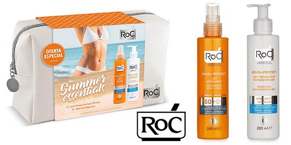 ROC Soleil-Protect neceser con protector solar y aftersun oferta
