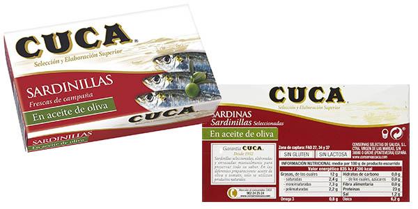 sardinillas cuca en aceite de oliva oferta