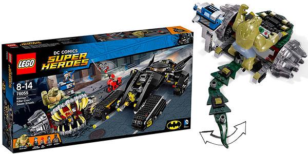 Set Golpe en las alcantarillas de Killer Croc de LEGO DC Super Heroes con 5 minifiguras barato