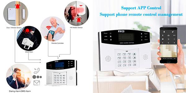 Sistema de alarma Owsoo GSM de 433 MHz barato