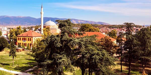 Skopje viaje corto bajo coste