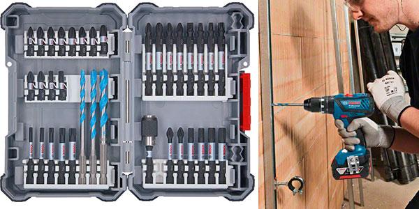 Taladro Bosch Professional GSB 18V-28 con 2 baterías barato