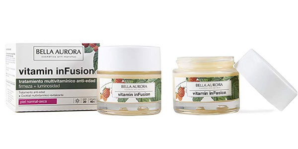 Tratamiento reparador Bella Aurora Vitamin inFusion night barato en Amazon