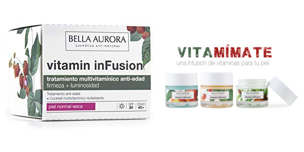 Tratamiento reparador Bella Aurora Vitamin inFusion night en oferta en Amazon