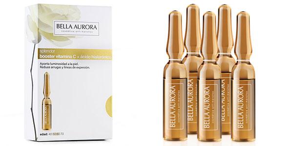 Tratamiento antiedad Bella Aurora Splendor de vitamina C con ácido hialurónico barato