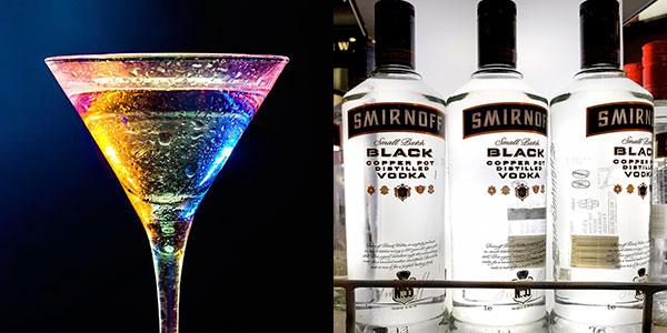 Vodka Smirnoff Black de 1.000 ml barato
