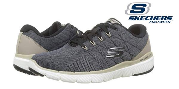 Zapatillas Skechers Flex Advantage 3.0-Stally para hombre baratas en Amazon
