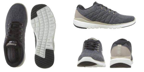 Zapatillas Skechers Flex Advantage 3.0-Stally para hombre en oferta en Amazon