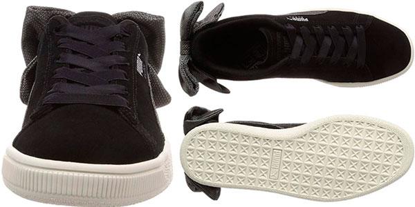 Zapatillas Puma Suede Bow Hexamesh para mujer baratas