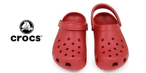 Zuecos crocs Classic en oferta