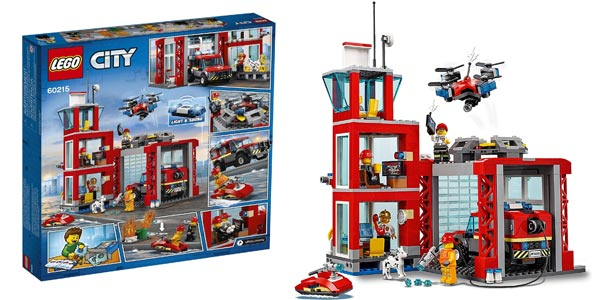 LEGO City Fire - Parque de Bomberos 60215 barato en Amazon