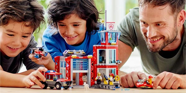 LEGO City Fire - Parque de Bomberos 60215 chollo en Amazon