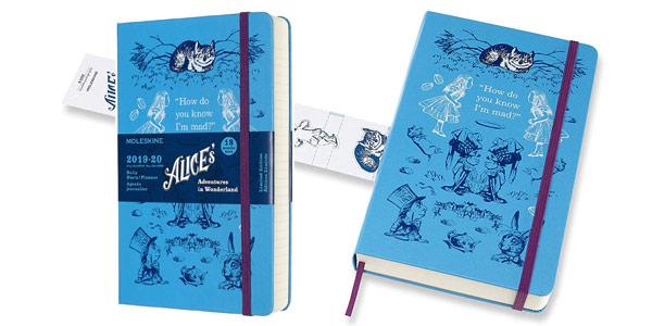 Comprar Agenda de 18 Meses Moleskine Alicia en el País de las Maravillas Edición Limitada barata en Amazon
