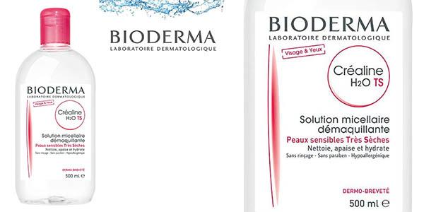 agua micelar Bioderma Crealine Ts H2O barata