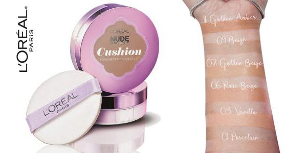 Base de Maquillaje Fluida L'Oréal Paris Cushion Golden Ambar 11 chollo en Amazon