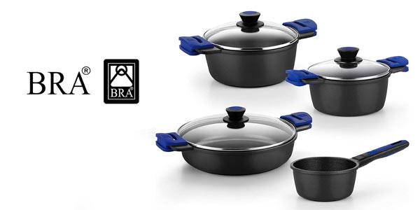 Batería de cocina Bra Advanced barata en Amazon