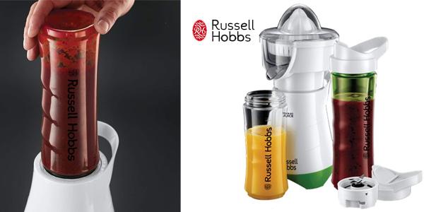 Exprimidor y Batidora de Vaso Russell Hobbs Mix & Go barata en Amazon