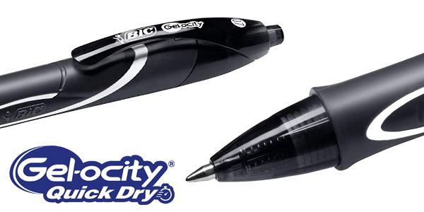 Blíster x6 BIC Gel-ocity Quick Dry chollo en Amazon