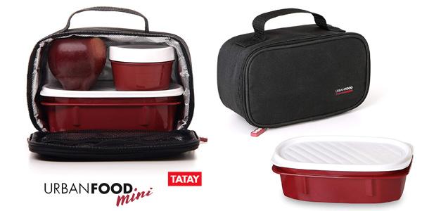 Bolsa portaalimentos Urban Food Mini Negro TATAY 1168100 barato en Amazon
