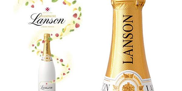 Botella Champagne Lanson White Label de 750 ml de 75 cl barata en Amazon