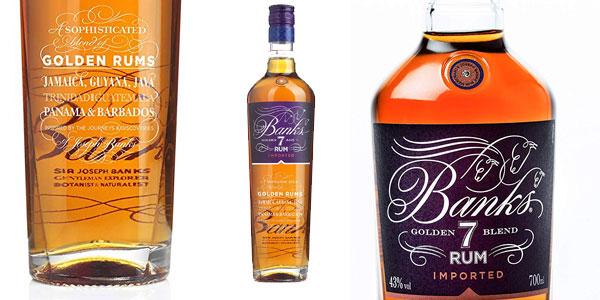 Botella Ron Banks 7 Golden Age de 700 ml barata en Amazon