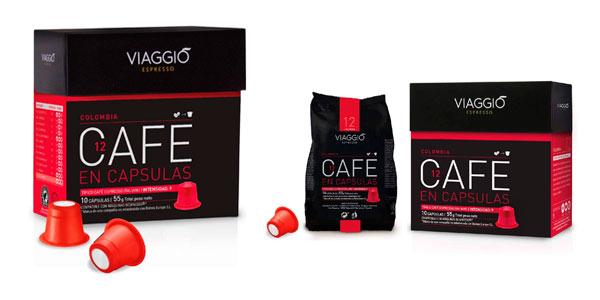 Café en cápsulas Viaggio Espresso Colombia para Nespresso barato en Amazon