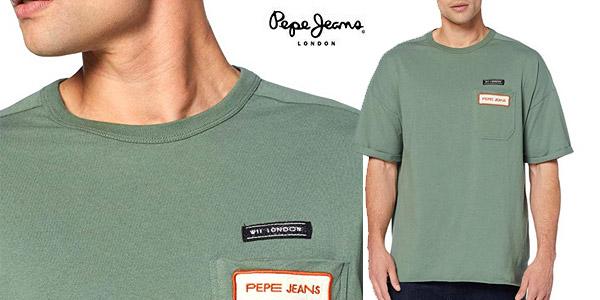 Camiseta Pepe Jeans Maltoni para hombre chollo en Amazon