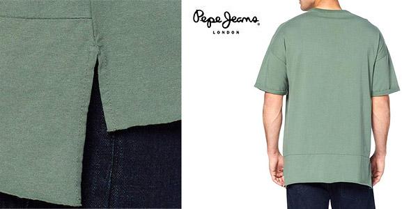 Camiseta Pepe Jeans Maltoni para hombre chollazo en Amazon