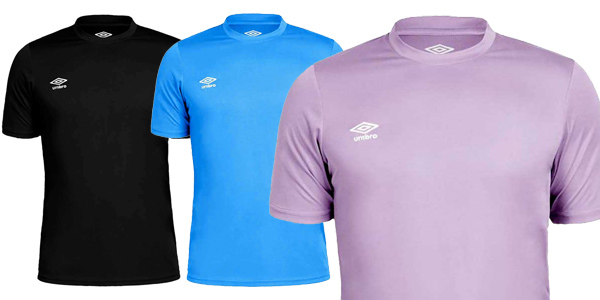 Camiseta deportiva Umbro Oblivion para hombre chollo en Amazon