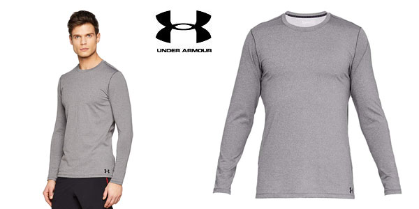 Camiseta Under Armour Fitted ColdGear para hombre barata en Amazon