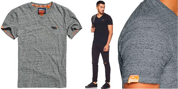 Camiseta Superdry Vintage Label con cuello en V en varios modelos para hombre barata