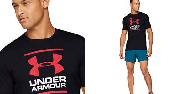 Camiseta Under Armour UA GL Foundation para hombre en oferta  en Amazon