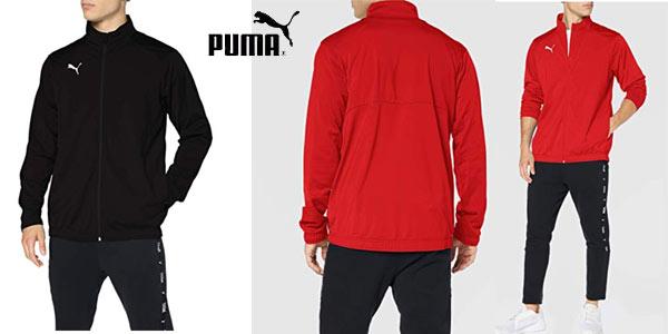 Chaqueta de fútbol Puma Liga sideline Core barata en Amazon