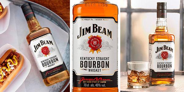Chollo Bourbon Jim Beam Kentucky de 700 ml